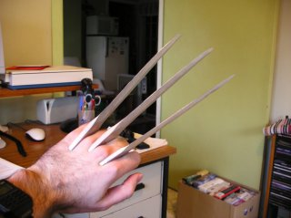 Claw set on one hand.