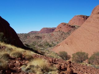 Kata Tjuta's longer walk.